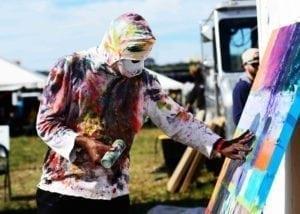 Thrival Festival Spraypaint